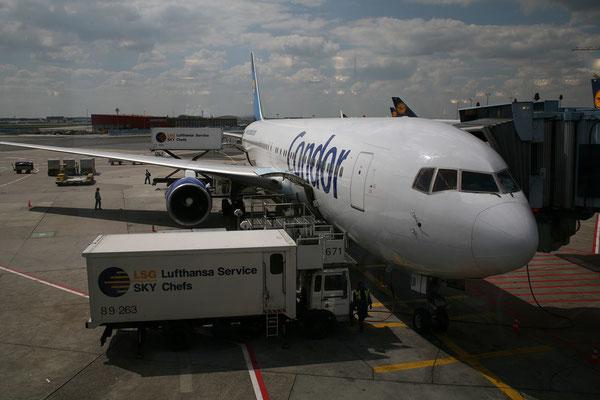 7.5. Anreise Graz - Frankfurt - Grenada