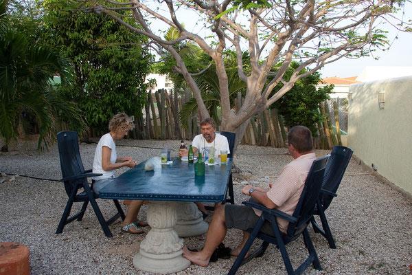 Casa Bonito - Unsere Vermieter, Edelgard und Rudi Staudigl, beides leidenschaftliche (CCR)Taucher...