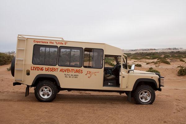 21.2. Heute unternehmen wir die Living Desert Tour mit Chris Nel