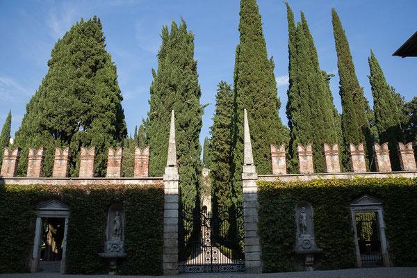 23.09. Verona - Der Giardino Giusti ist um 1570 entstanden und wurde im 19. Jh. in einen englischen Garten umgewandelt.