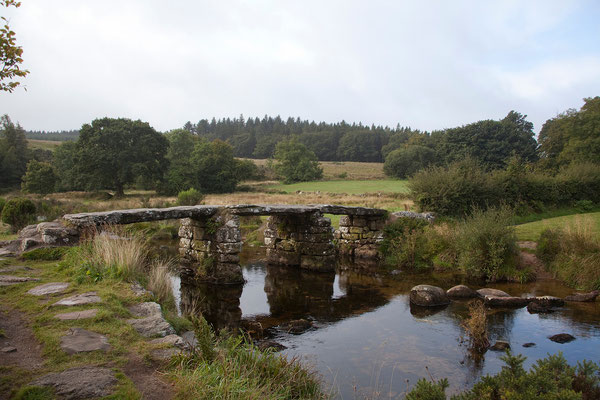 12.09. Clapper Bridge in Postbridge, Dartmoor