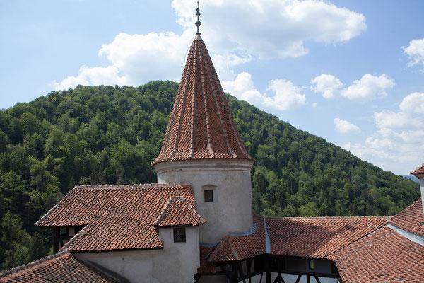 09.06. Schloß Bran: Vlad Țepeș war wohl nie hier, nur sein Großvater war für kurze Zeit im Besitz des Schlosses.