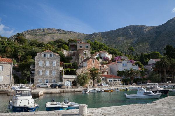 21.09. Heute fahren wir mit dem Boot von Mlini nach Dubrovnik, eine sehr angenehme Art der Anreise.