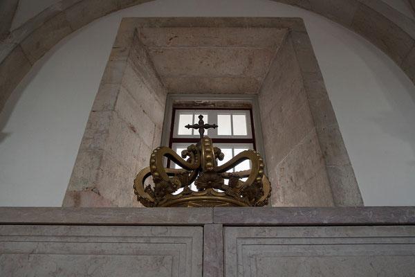 14.09. Im Mosteiro de São Vicente de Fora befindet sich auch das Pantheon der Bragança Dynastie mit den Särgen der letzten portugiesischen Könige.