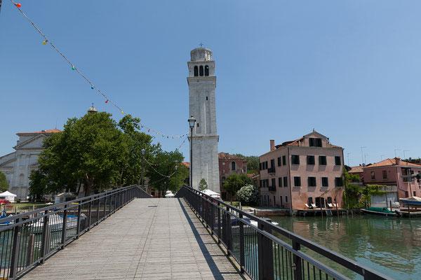 01.07. Castello Viertel: wir spazieren auf die Isola di San Pietro