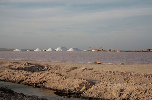 An der Südküste: Salinen