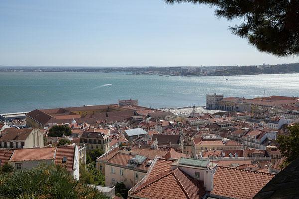 15.09. Castelo São Jorge: Praça do Comércio
