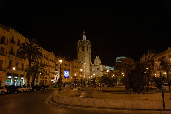 31.03. Plaza de la Reina bei Nacht