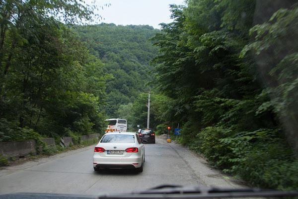 14.06. Von Olari bis zu unserem nächsten Ziel sind es etwa 200 km. Weite Teile der Strecke sind Baustelle. Hätten wir an allen roten Ampeln gehalten. wären wir vermutlich noch dort...