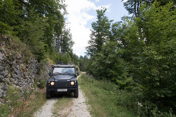 14.08. Auf der Strecke von Gornji Grad bis Golice