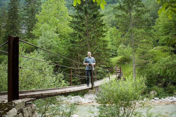 16.06. Weiter geht es das Soča Tal entlang.