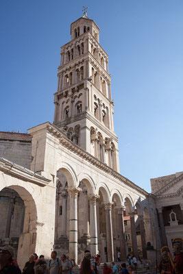 22.09. Split - Diokletianspalast (Peristyl mit Sv. Duje)