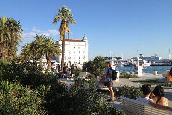 22.09. Split - Uferpromenade