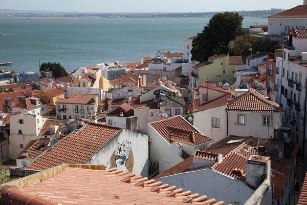 15.09. Die Alfama, die maurische Altstadt, ist eines meiner Lieblingsviertel in Lissabon.