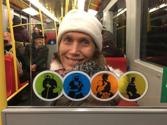In der U - Bahn