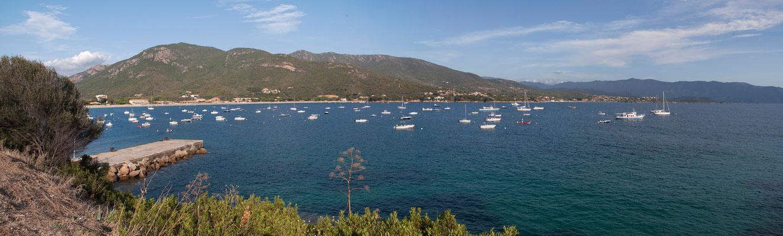 05.09. An der Küste zwischen Cargèse und Sagone.