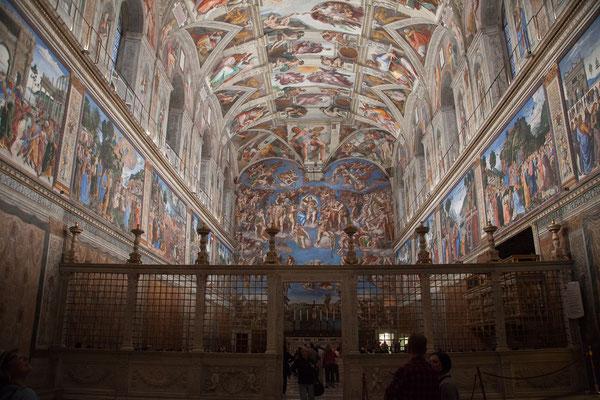 20.05. Vatikanische Museen: Sixtinische Kapelle