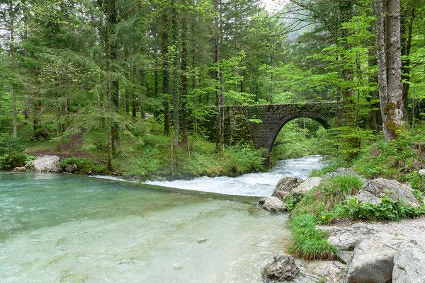 05.05. bei der Quelle der Kamniška Bistrica