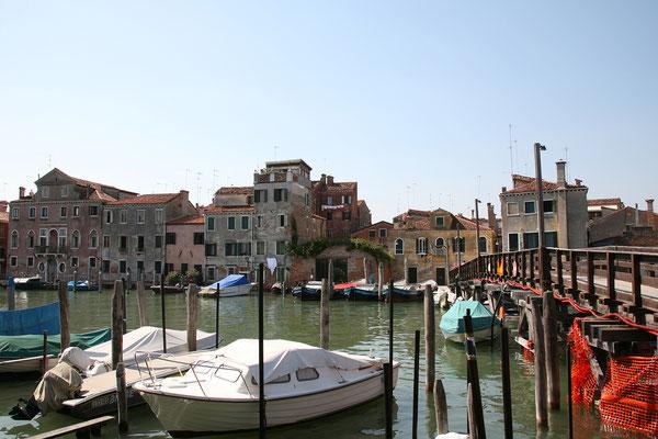 14.09. Von San Pietro gehts retour zum Vaporetto.