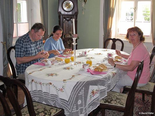 Bled - Frühstück