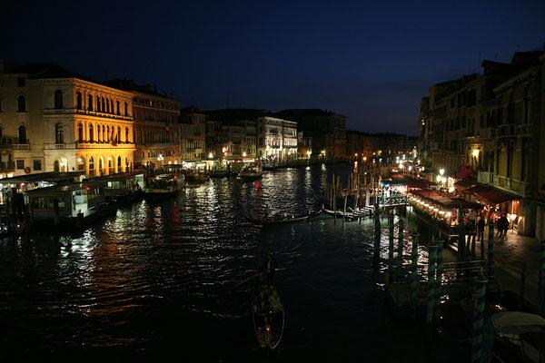 13.09. Canal Grande bei Nacht