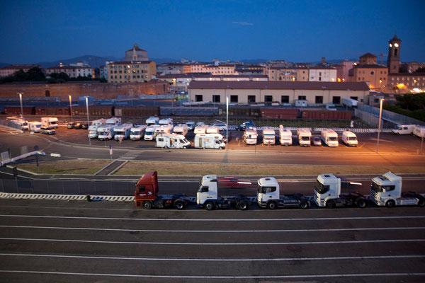 31.08. Hafen, Livorno