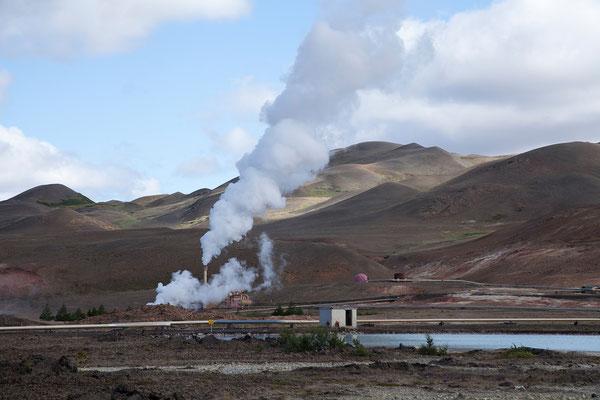 3.8. Mývatn - Geothermiekraftwerk