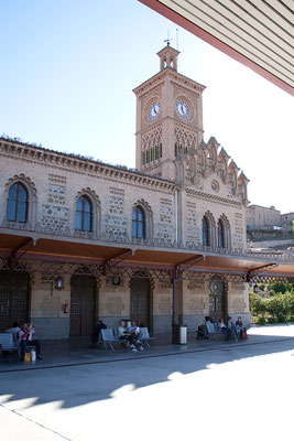 26.09. Toledo: Bahnhof