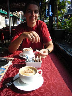 16.09. Abschieds - Kaffee mit Blick auf Rialto