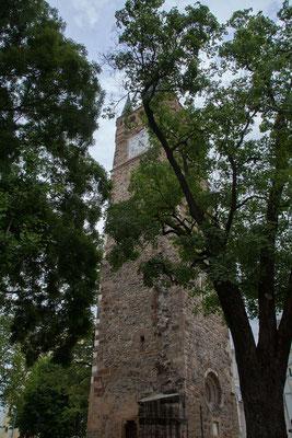 18.6. Baia Mare - Der gotische Glockenturm Turnul Sfântul Ștefan gilt als Wahrzeichen der Stadt.