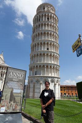 07.06. Pisa: schiefer Turm