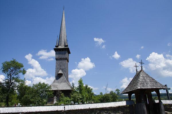01.06.Auch die Holzkirche von Plopiș ist UNESCO Weltkulturerbe.