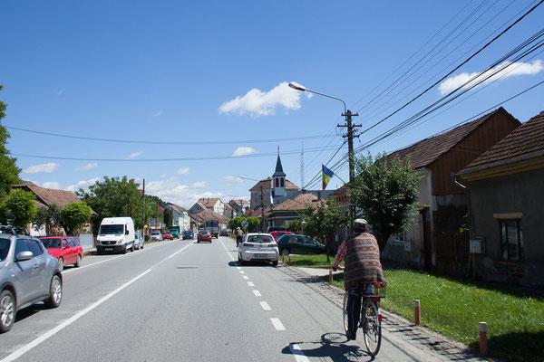 16.6. Von Cluj aus fahren wir heute in Richtung Osten.