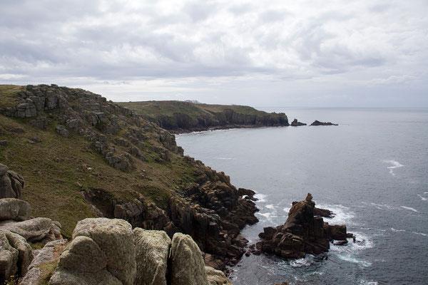 08.09. Sennen Cove - Der Blick reicht bis Land's End