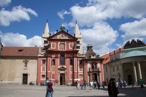 08.05. Prager Burg: St. Georgs Basilika