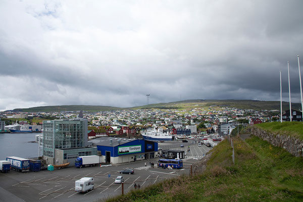 30.7. Färöer Inseln - Streymoy - Tórshavn (Fährhafen)