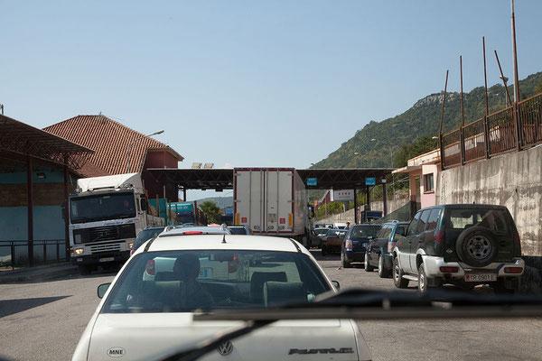 15.9. Hani i hotit ist der Hauptgrenzübergang nach Montenegro.
