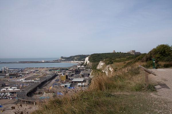 01.09. Der Hafen von Dover.