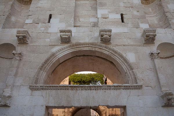 22.09. Split - Diokletianspalast (Goldenes Tor/Nordtor)