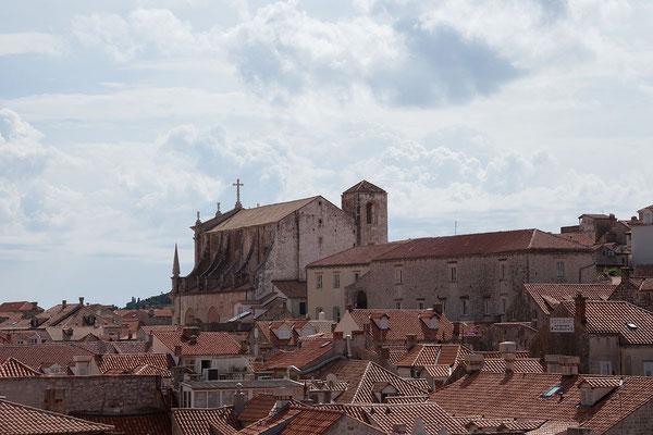 21.09. Dubrovnik - Auf der Stadtmauer (St. Ignatius)