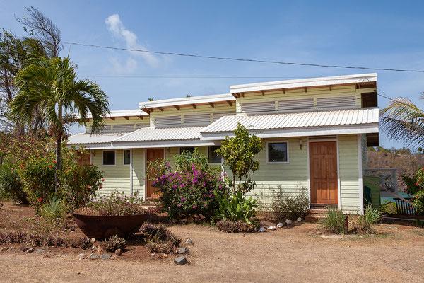 Unser Superior Zimmer (ganz rechts) in der Cabier Ocean Lodge.