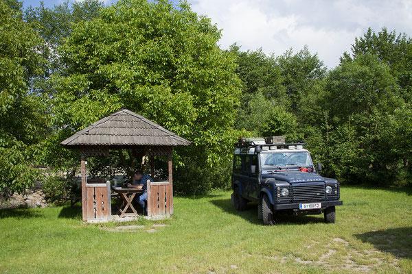 31.05. Camping Casa Ana, in der Nähe des Fröhlichen Friedhofs