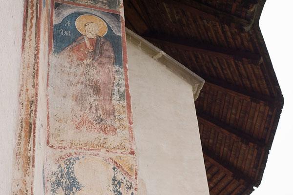 17.6. Kloster Moldoviţa - Seit 1537 existieren die bunten Außenfresken.