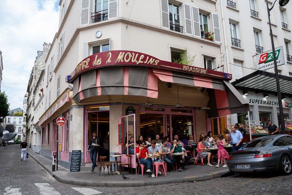 13.06. Montmartre: Café Les Deux Moulins