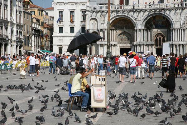 13.09. Piazza San Marco & die Ratten der Lüfte