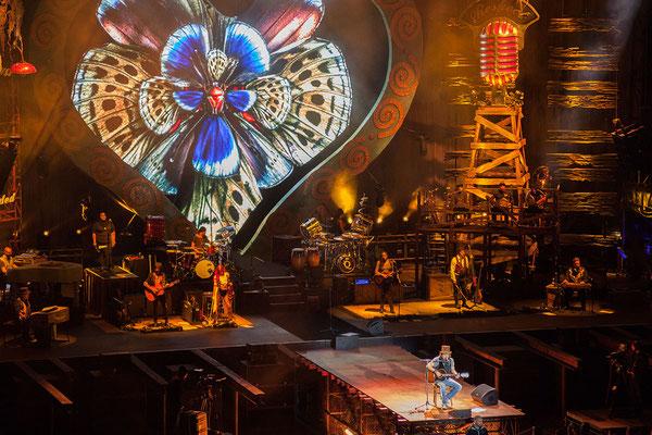 24.09. Wir genießen ein super Konzert von Zucchero in der Arena von Verona.
