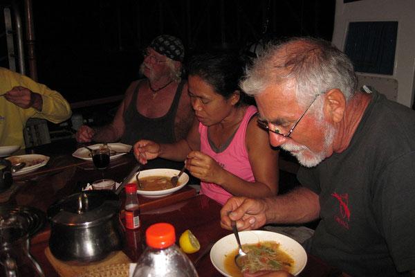 15.09. Letztes Abendessen auf der MS Galiote