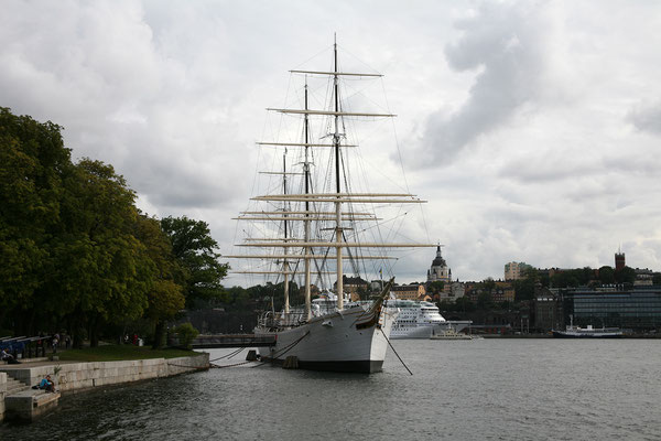 Skeppsholmsbron, Blick auf af Chapman