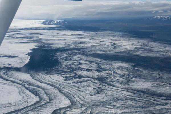 2.8. Rundflug - Vatnajökull
