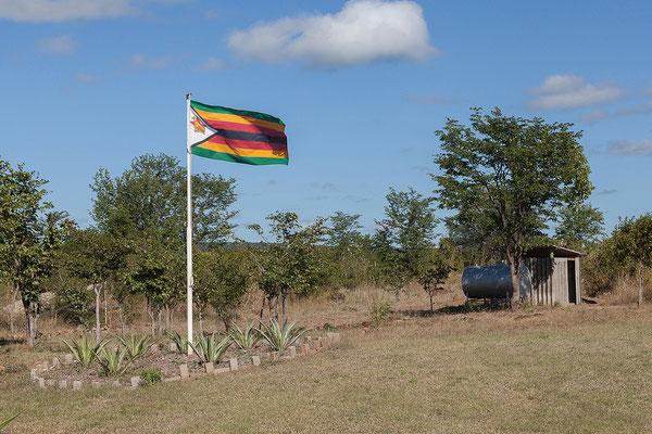 Airfield Chikopokopo Helicopters, Vic Falls, Zimbabwe